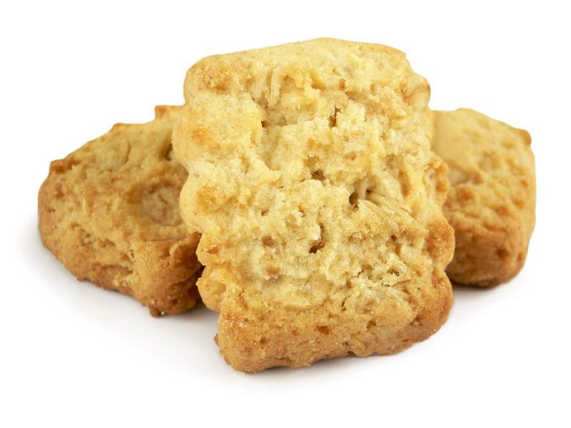 Viso grūdo sausainiai su avižiniais dribsniais