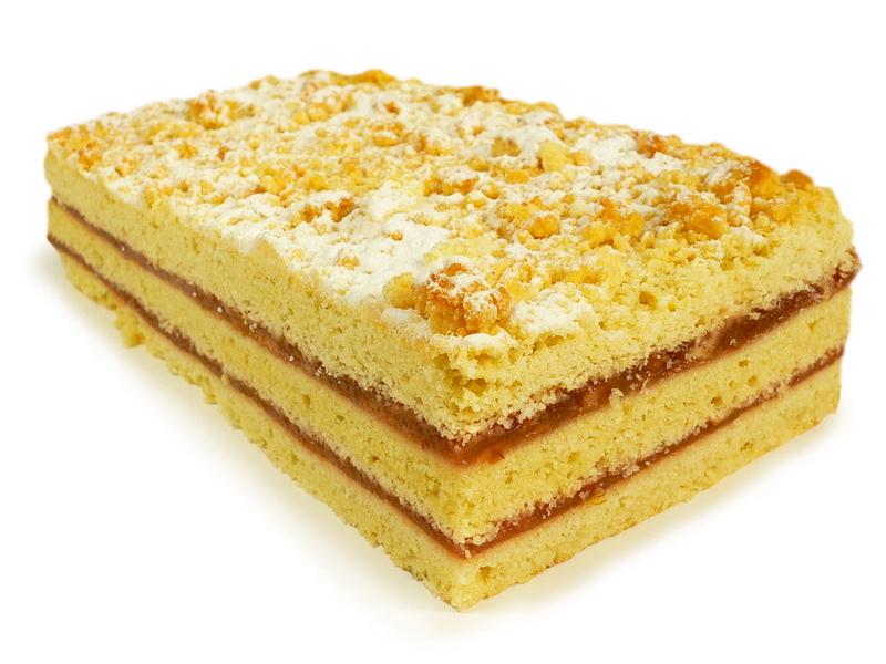 Trapus pyragas su marmeladu