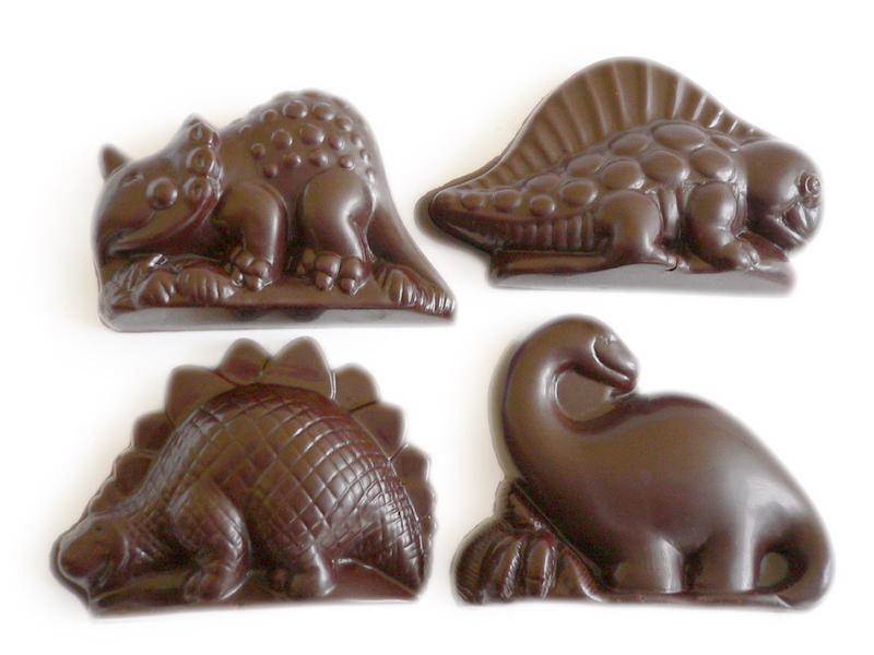 Šokoladiniai dinozaurai