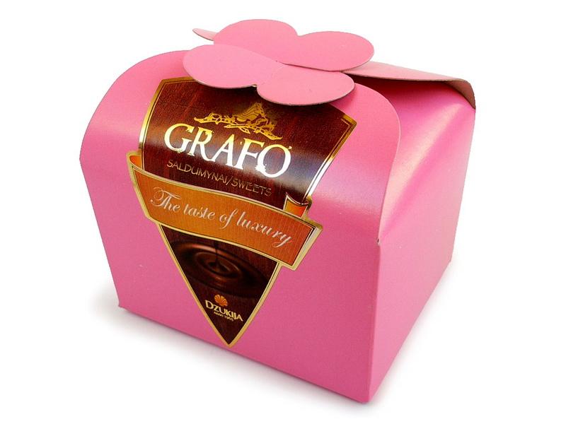 Vaisių šokolade krepšelis 200g.