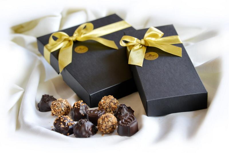 Šokoladinių saldainių rinkinys 150-300g.
