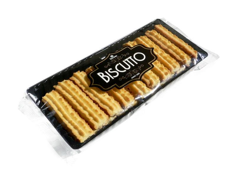 Sausainiai KAIMIŠKI su sviestu (Biscutto) 160g.