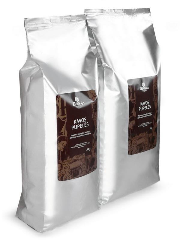 Dzūkijos kavos pupelės. 500g. 1kg.